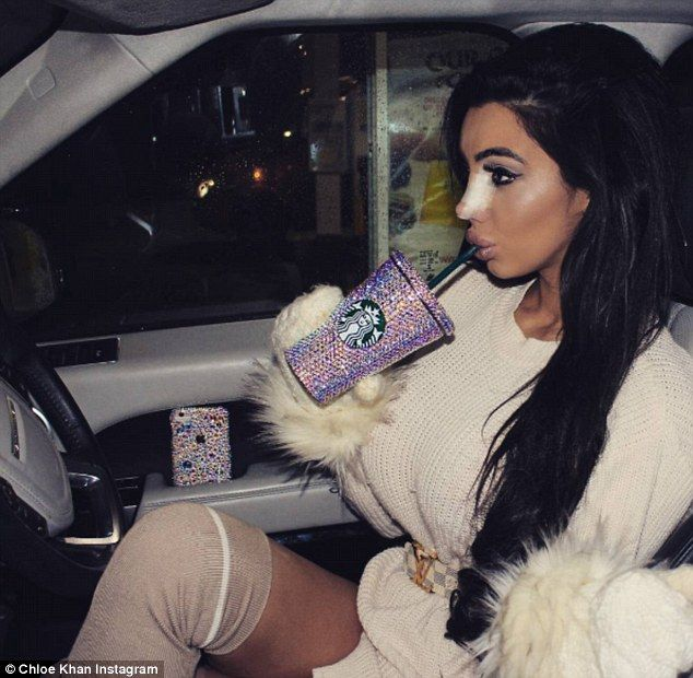Wrapped up:And Chloe Khan appeared to confirm whispers of a nose job as she took to Instagram on Wednesday to her bandaged, albeit extremely straight nose