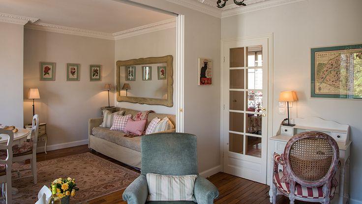 Shabby and Charme: Un elegantissimo appartamento parigino