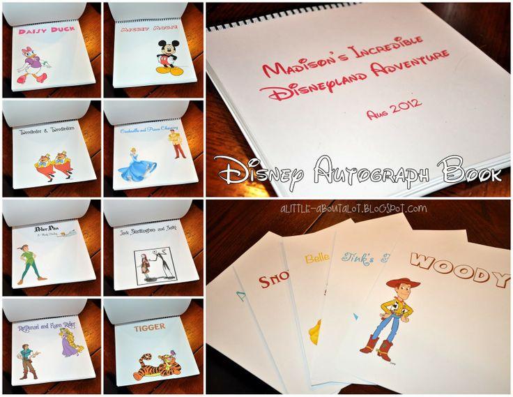 17 Best Ideas About Wedding Planner Book On Pinterest: 17 Best Ideas About Disney Autograph Books On Pinterest
