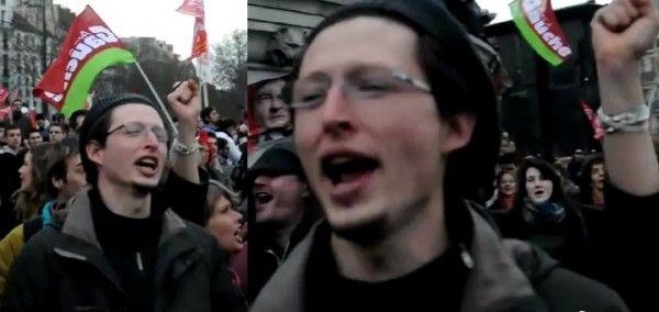 100.000 de comuniști francezi cîntă Internaționala Socialistă. Românii se încălzesc.      (BASTILIA, 2012) 100.000 de oameni, frumoși, bine îmbrăcați, liberi, cîntă cu emoție Internaționala, cîntecul în numele căruia au fost uciși peste 100.000.000 de oameni. Vive la France!