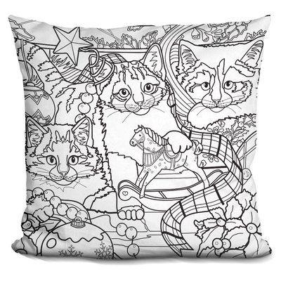 The Holiday Aisle Berkey Christmas Cuties Throw Pillow