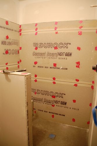 DIY Walk-In Shower: Step 3- Prep For Tile