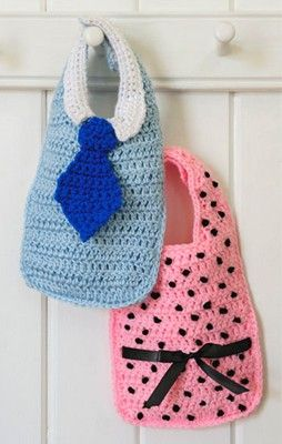 baby bibs - (free instructions)
