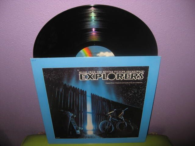 SPRING SALE Rare Vinyl Record Explorers Original Soundtrack LP 1985 Sci Fi Classic Jerry Goldsmith by JustCoolRecords on Etsy https://www.etsy.com/ca/listing/72953695/spring-sale-rare-vinyl-record-explorers