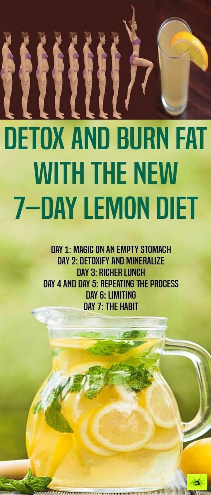 The following drink will help you detoxify your body, release fat, and will fit into your diet. Its main ingredient is lemon, a super fruit which is powerfu