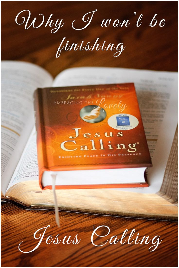 Why I won't be fnishing Jesus Calling by Sarah Young due to it's New Age Buzzwords and Influence.