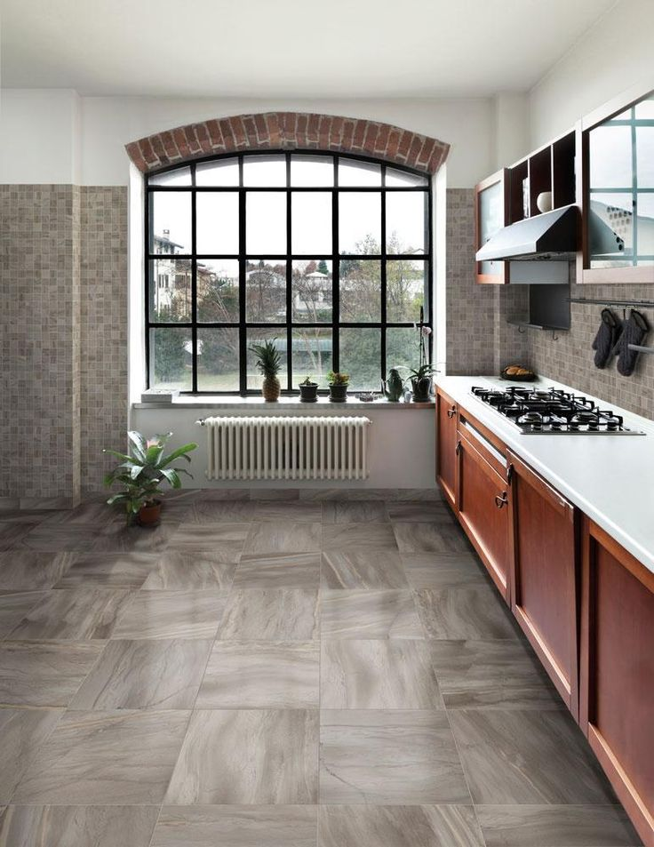Builddirect 174 Kaska Italian Porcelain Tile Canton Series Light Grey Kitchens Porcelain Tile