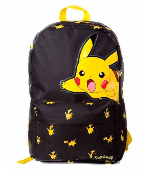 Mochila Pokemon: Pikachu
