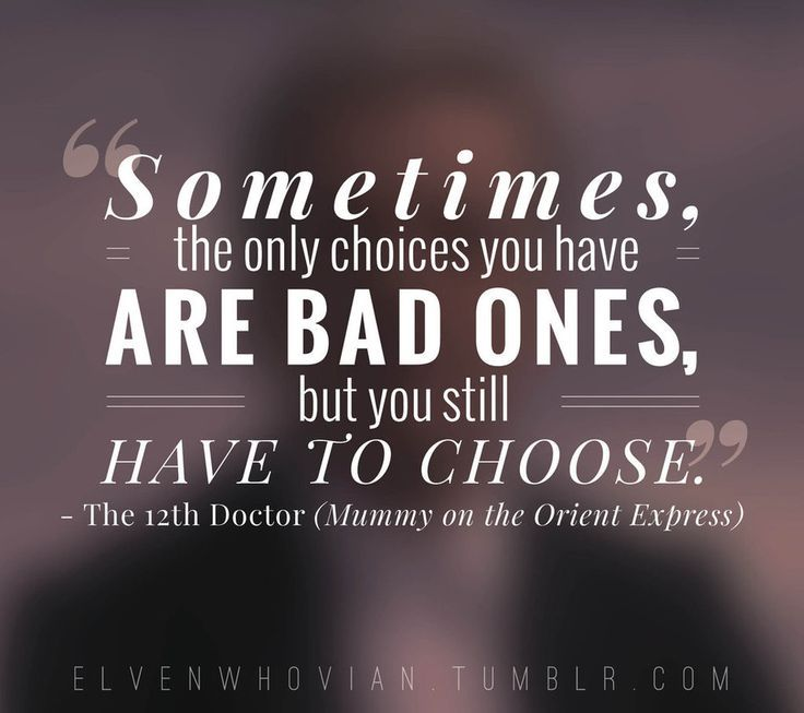 Lovely Doctor Who Quote