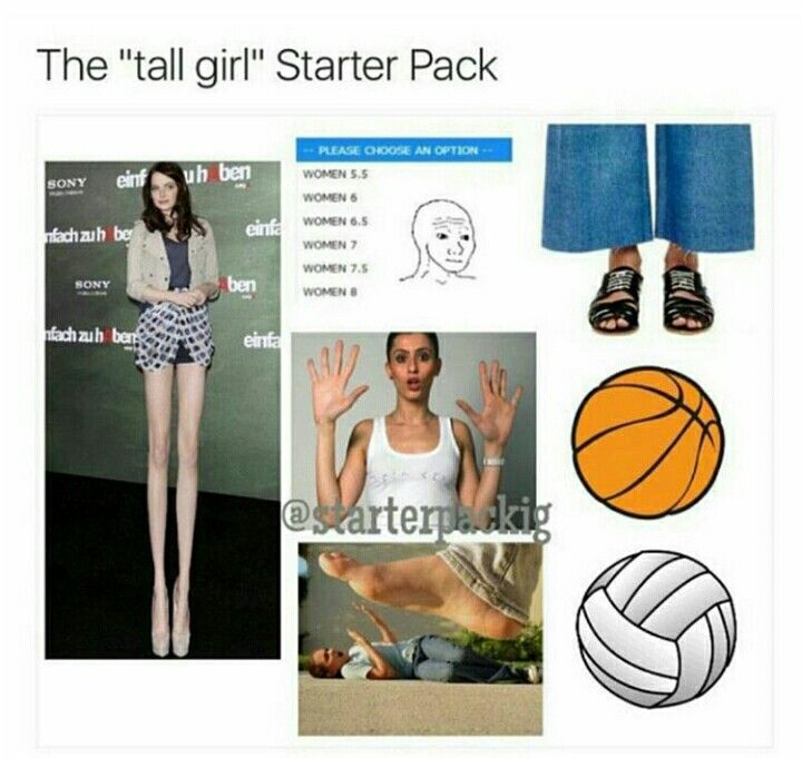 I'm tall and the only thing that's true is the volleyball/basketball... anyone agree?