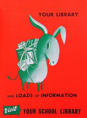 A Media Specialist's Guide to the Internet: Wow! 40 Retro Library Posters!