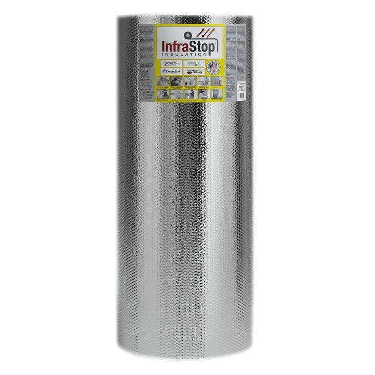 "InfraStop 48"" x 100' Double Bubble Reflective Foil Insulation"
