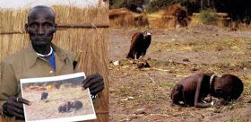 The Boy That Survived The Vulture ~ 17 years ago, back in 1993, the New York Times published one of those photos that instantly make their way into our collective memory: a severely malnourished toddler under the stalking look of a vulture just a few feet away. The picture was taken in the Sudanese village of Ayod, and the photographer was South African Kevin Carter. This image, crude as it can be, soon became symbolic of the terrible problems that devastate the African Continent,