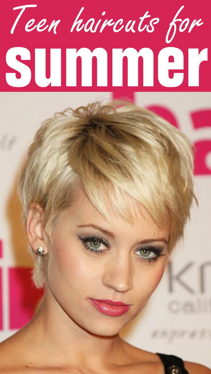 30 Short Choppy Hairstyles For Teenage Girls Hairstyles Ideas