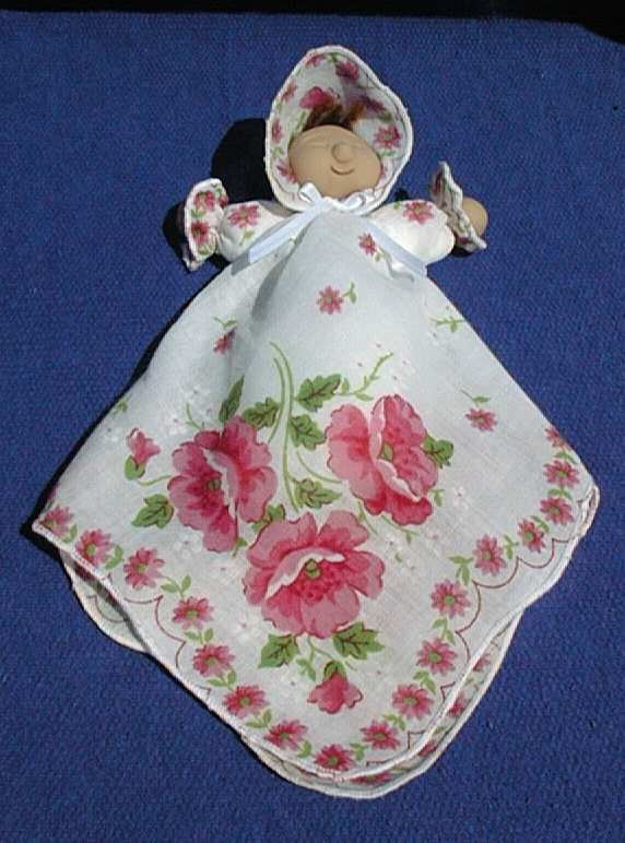 hankerchief dolls | Cab Creek Crafts design your own doll