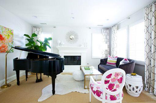 Habitaciones con piano de cola