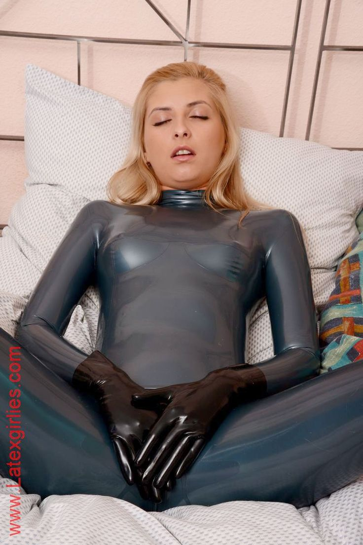 Rubber sex suit