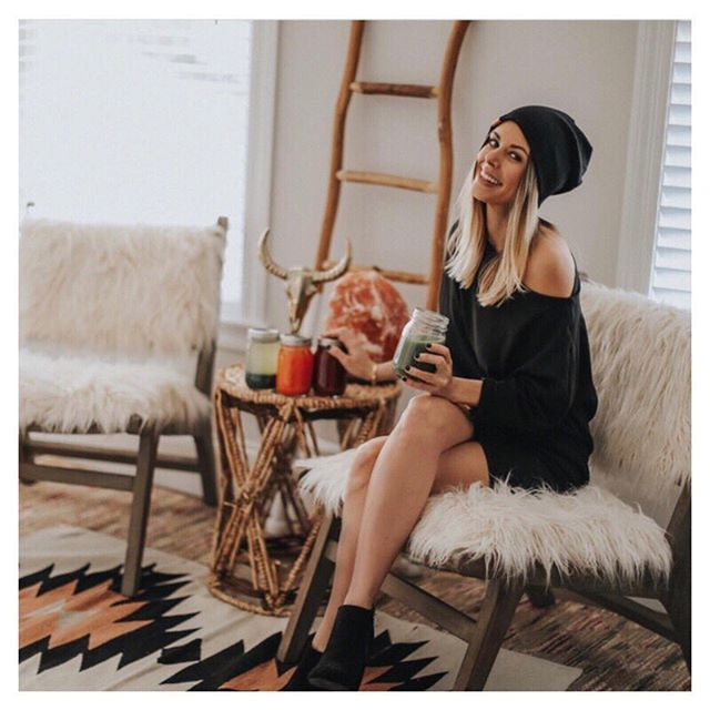Power mama  photographer  total boss babe @_erica_ott rockin our black beanie and Ultimate Multi!