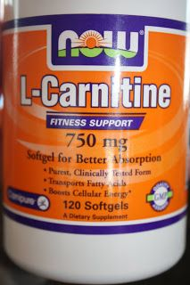 l-Carnitine...fat burning supplement - Maria Mind Body Health