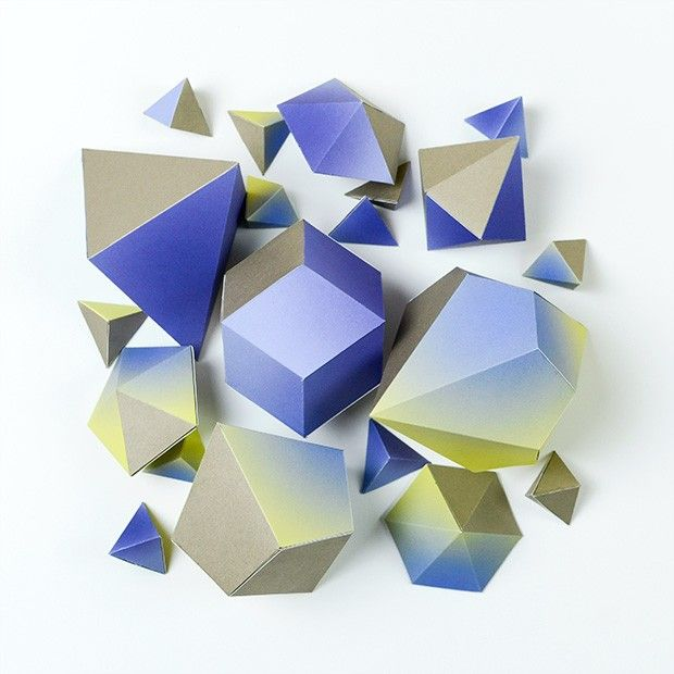 Les boites à monter -  Polyèdres #1