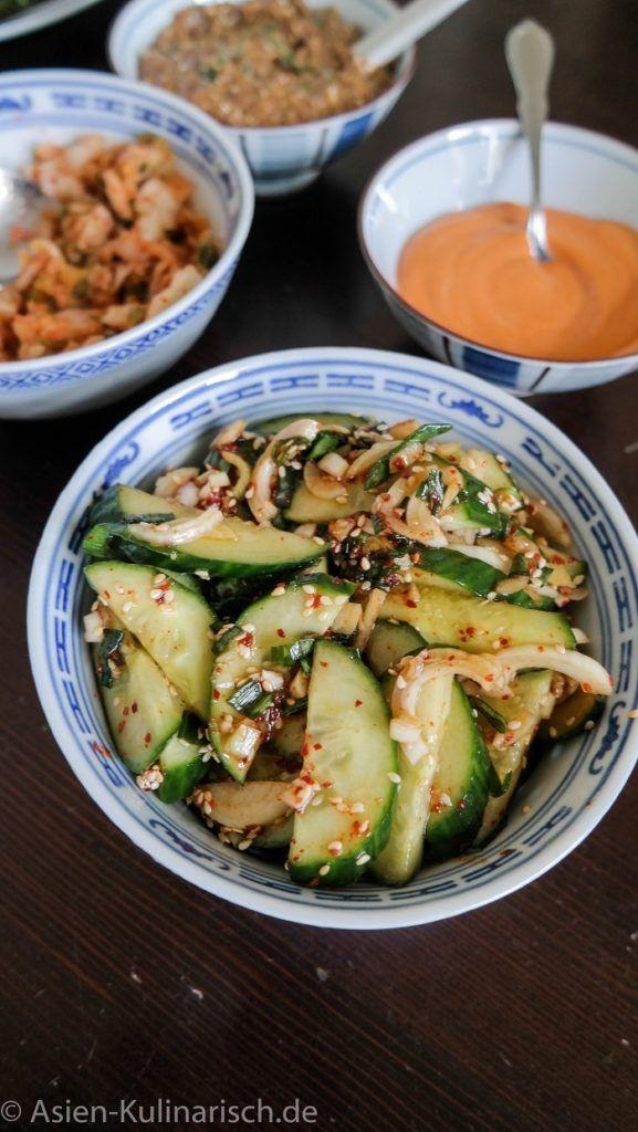 Die besten 25+ asiatischer Gurkensalat Ideen auf Pinterest