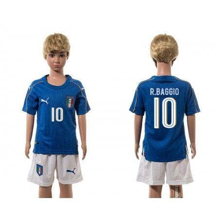Italien Trøje Børn 2016 #Verratti 10 Hjemmebanetrøje Kort ærmer.199,62KR.shirtshopservice@gmail.com