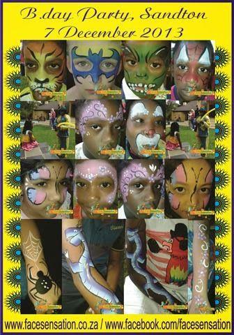 Face-Sensation Facepainting: More of November and December 2013