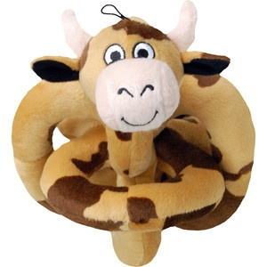 Mooing Brown Cow Talking Toy, $15, now featured on Fab.