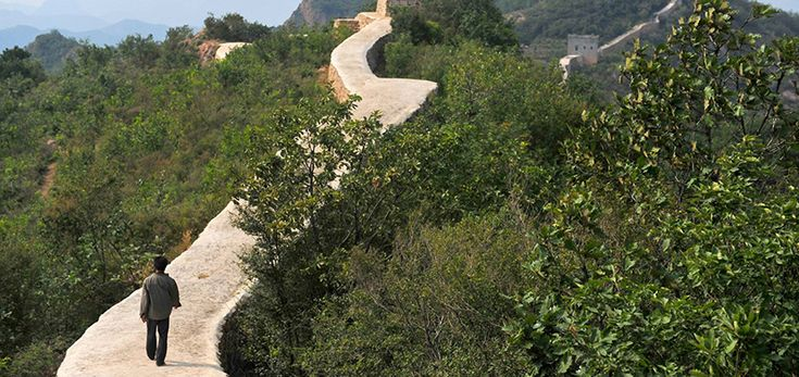 La Gran Muralla China es reparada con cemento, un escándalo - http://www.absolut-china.com/la-gran-muralla-china-reparada-cemento-escandalo/