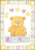 "New Baby Gift Card - ""Wishing you and your precious little one a lifetime of happiness.""  -  $3.89"