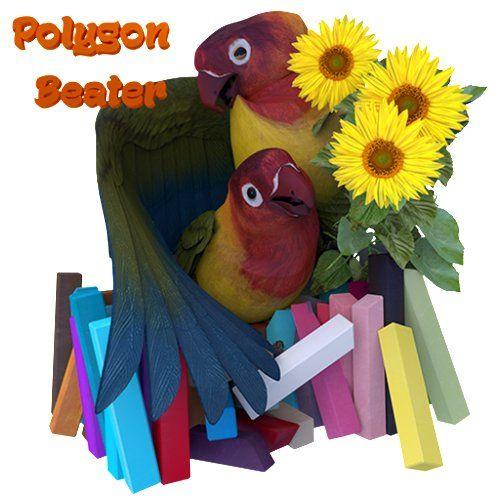 3D Parrots coloring book by Polygon Beater, http://www.amazon.com/dp/B017OBLLYQ/ref=cm_sw_r_pi_dp_6EEpwb13CMJRG
