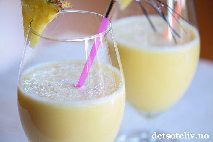Piña colada-smoothie | Det søte liv