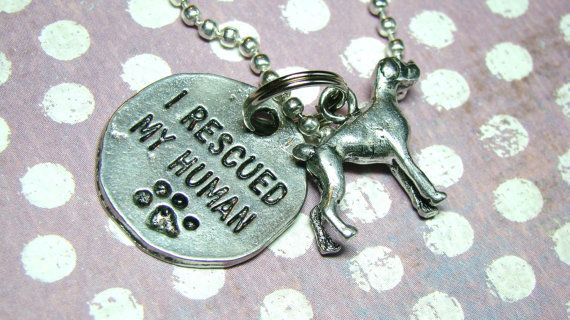 100 PERCENT DONATION Boxer Dog Charm Necklace for by manicmuse, $15.00