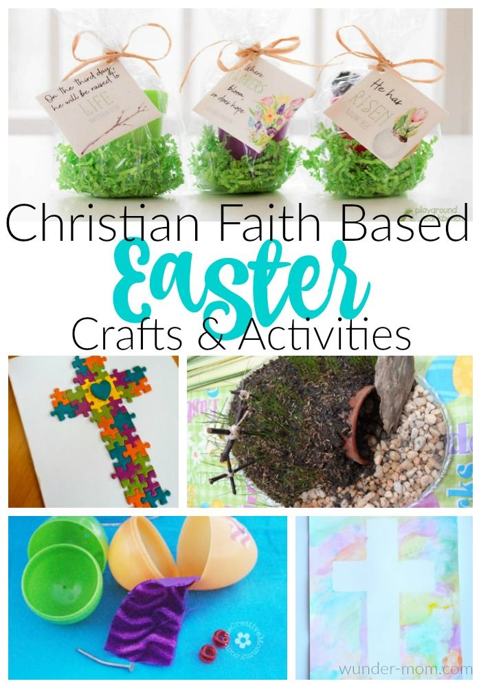 We love the cute and cuddly bunny crafts, the easter eggs, the spring chicks, and the flowers this time of year. So many fun ways to craft and lots of activities and science can be done in the Spring time! For Easter, though, we like to add in some Faith Based Easter crafts and activities - ones that are fun to create but are also a great teaching tool for Christian Kids.