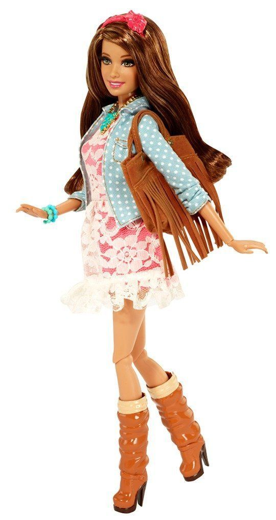 Barbie - Glam Luxe: Teresa, muñeca fashion (Mattel BLR57): Amazon.es: Juguetes y juegos: