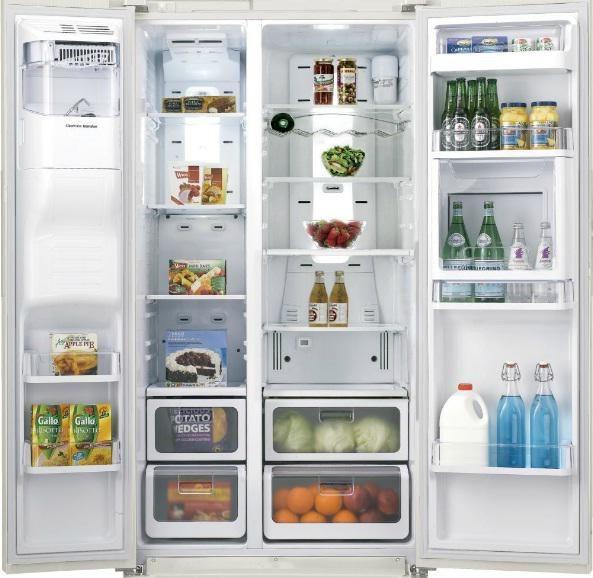 Les 25 meilleures id es de la cat gorie frigo americain sur pinterest frigo americain blanc - Frigo americain 3 portes ...