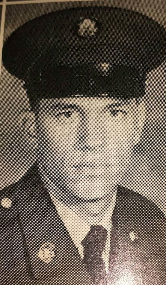 The King of Country Music, George Strait as an army in the military in 1971-1975. He was stationed in Schollfield Barracks in Hawaii.