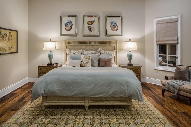 This Master Bedroom Oasis Combines Cool Tones And Soft Textures To Create A Safe Haven That Is