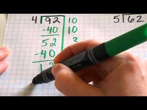 Big 7 Division - alternative method for long division - great for kids with dyslexia and dysgraphia!
