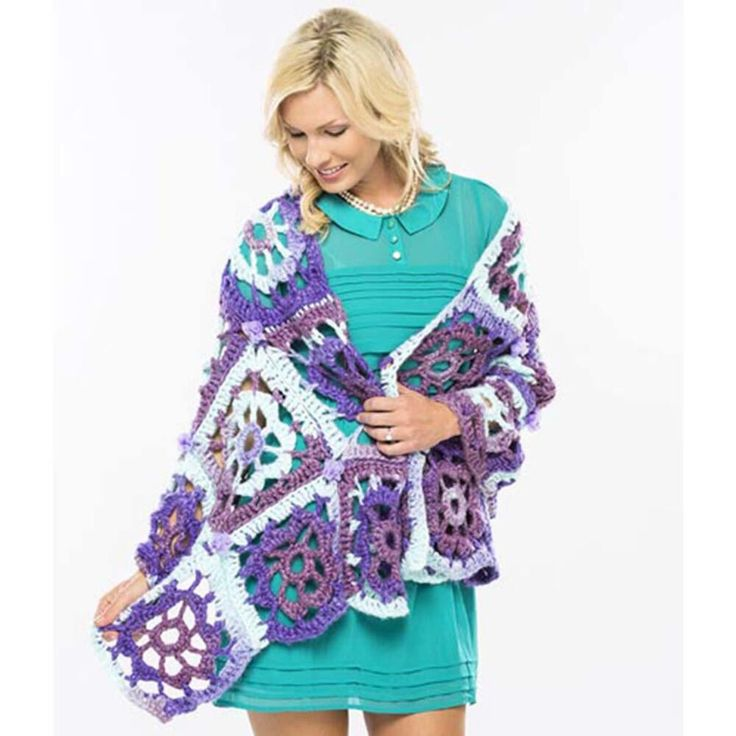 1000+ images about Crochet Cape Shawl Poncho on Pinterest ...