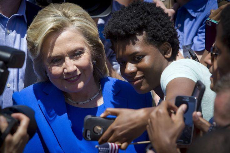 Wahlkampfstart von Hillary Clinton Mit Populismus ins Weiße Haus