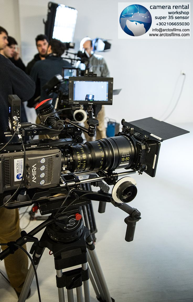 WIDE RANGE OF CINEMATIC EQUIPMENT available for Rent. Call us at +30 210 6655030 or visit www.arctosfilms.com
