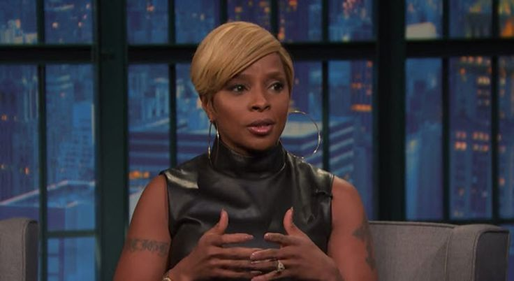 "Singer Mary J. Blige Talks Guest Starring on Empire | Late Night with Seth Meyers [Video]- http://getmybuzzup.com/wp-content/uploads/2015/02/mary-j.-blige-650x355.jpg- http://getmybuzzup.com/mary-j-blige-talks-guest/- Mary J. Blige Talks Guest Starring on Empire Singer Mary J. Blige dropped by the Seth Meyers show; while there she talked about guest starring on the hit TV show ""Empire"", being a huge Taraji P. Henson fan & more. Enjoy this video stream below"