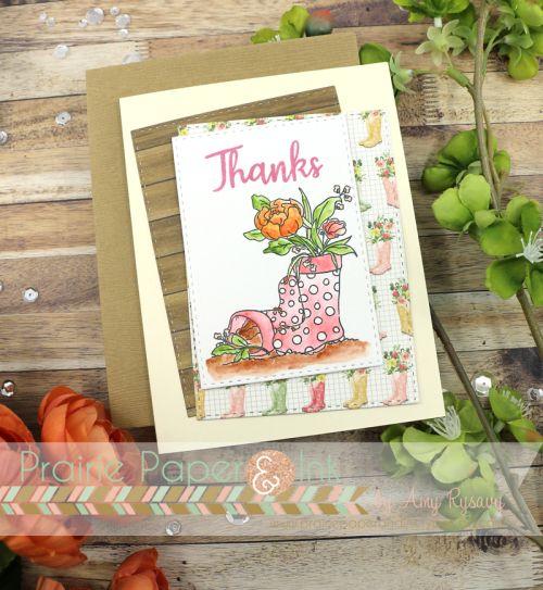 Simon Says Stamp Showers & Flowers | Choose Joy Card Kit | Daniel Smith Watercolors