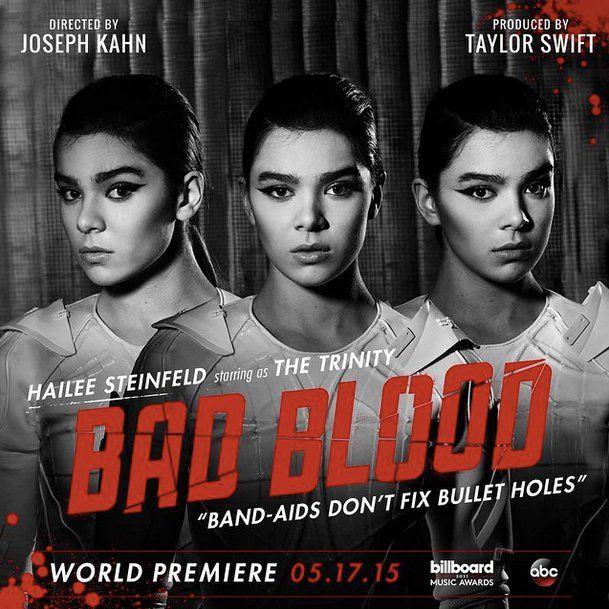 """Pin for Later: Taylor Swift's """"Bad Blood"""" Musikvideo ist endlich da Hailee Steinfeld"""