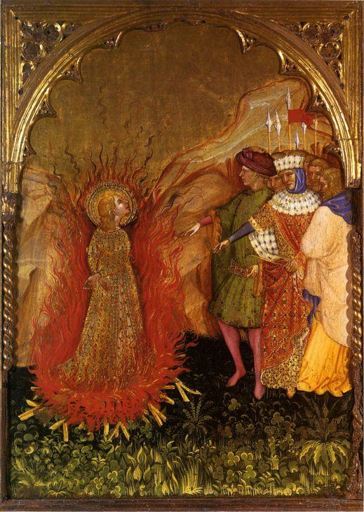 Jacobello del Fiore, Histories of Saint Lucy, Fermo, 1410. Marche, Italy