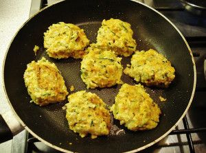 Carrot & Courgette Fritters