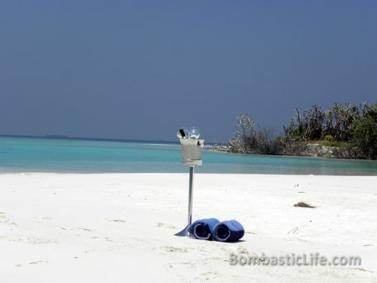 Deserted Beach in the Maldives