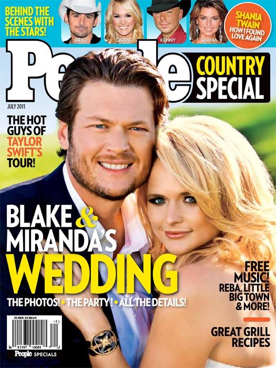 Blake and Miranda's Wedding!: People Covers, Magazine Covers, Articles, Weddings, Music Blake Shelton Miranda, Country Music, Miranda Lambert Wedding, People Magazine, Magazines Covers