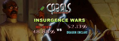 Insurgence Wars continues News | Cabals: Magic & Battle Cards